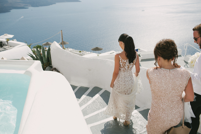 Danielle and Steve // Santorini Destination Wedding Photography by Kristen Cook | (c) www.kristencook.com.au